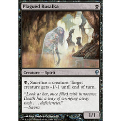 Magic löskort: Conspiracy: Plagued Rusalka