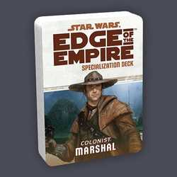 Star Wars: Edge of the Empire: Specialization Deck - Colonist Marchal