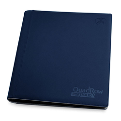 Ultimate Guard 12-Pocket QuadRow XenoSkin Dark Blue