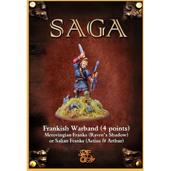 Saga: Aetius & Arthur - Frankish 4 point Starter Warband