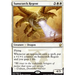 Magic löskort: Dragons of Tarkir: Sunscorch Regent