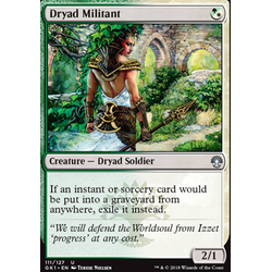 Magic löskort: Guild Kits: Dryad Militant