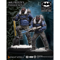 Batman Miniature Game: Mr Freeze Thug Set I