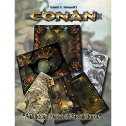 Conan RPG: Forbidden Places & Pits of Horror Geomorphic Tile set