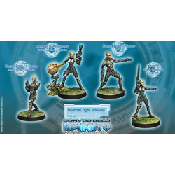 Tohaa Kamael Light Infantry (Box of 4)