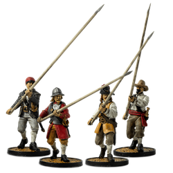 European Pikemen Set