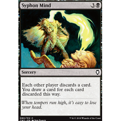 Magic löskort: Commander Anthology 2018: Syphon Mind