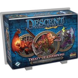 Descent: Journeys in the Dark 2nd Ed: Hero and Monster Collection - Treaty of Champions