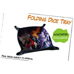 Hellboy: The Board Game - Folding Dice Tray