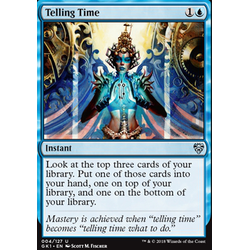 Magic löskort: Guild Kits: Telling Time