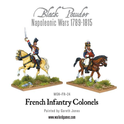 Napoleonic: Mounted French Colonels