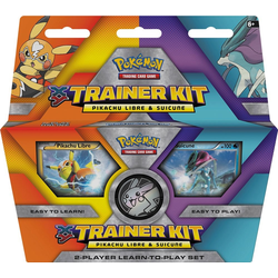 Pokemon TCG: XY Trainer Kit Pikachu Libre and Suicune