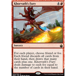 Magic löskort: Battlebond: Khorvath's Fury