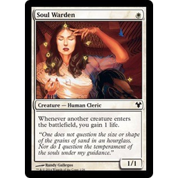 Magic löskort: Modern Event Deck: Soul Warden