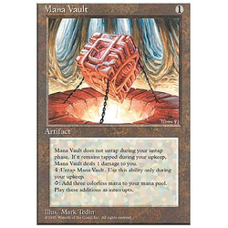 Magic löskort: 4th Edition: Mana Vault
