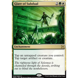 Magic löskort: Eternal Masters: Glare of Subdual (Foil)