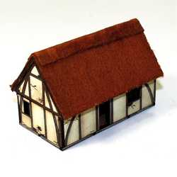 15mm Saxon Dwelling
