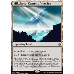 Magic löskort: Masters 25: Mikokoro, Center of the Sea