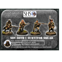 Soviet Survivor Squad - Mixed Heads (SHS) (4)