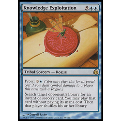 Magic Löskort: Morningtide: Knowledge Exploitation