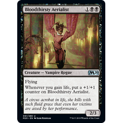 Magic löskort: Core Set 2020: Bloodthirsty Aerialist