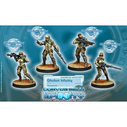 Haqqislam - Ghulam Infantry (Box of 4)