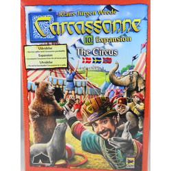 Carcassonne: The Circus (Under the Big Top, sv. regler)
