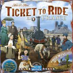 Ticket to Ride Map Collection 6 - France & Old West