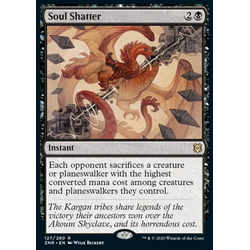 Magic löskort: Zendikar Rising: Soul Shatter