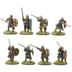 Saxon Huscarls with Spears A