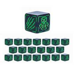 Cthulhu Wars: Battle Dice Green (20)