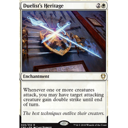 Magic löskort: Commander Anthology 2018: Duelist's Heritage