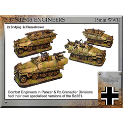 German Sd251d engineers vehicles