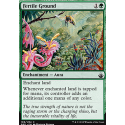 Magic löskort: Battlebond: Fertile Ground