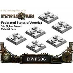 Federated States of America Fighter Tokens (30)