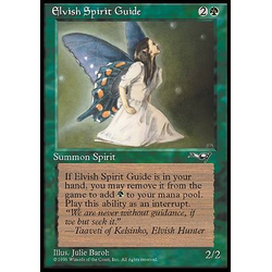 Magic löskort: Alliances: Elvish Spirit Guide