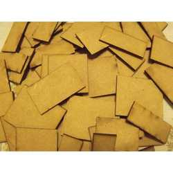 MDF Bases Square 25x12,5mm (10)