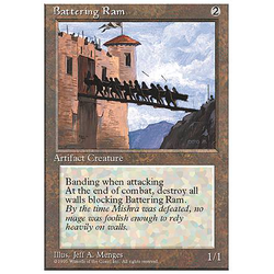 Magic löskort: 4th Edition: Battering Ram