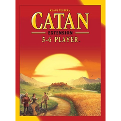 Settlers of catan (5th ed): Base Game 5-6 Player extension (eng. regler)