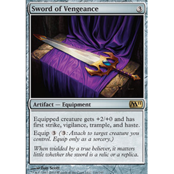 Magic Löskort: Core Set 2011 (M11): Sword of Vengeance