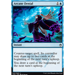 Magic löskort: Masters 25: Arcane Denial