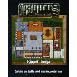 Deadlands: Rippers Resurrected - Ripper Lodge Map (Savage Worlds)