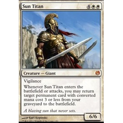 Magic löskort: Heroes vs Monsters: Sun Titan (Foil)