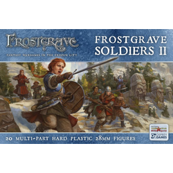 Frostgrave Soldiers II (female sculpts)