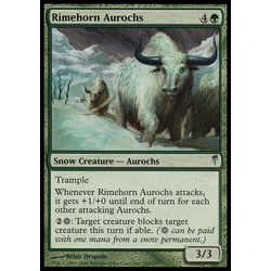 Magic löskort: Coldsnap: Rimehorn Aurochs