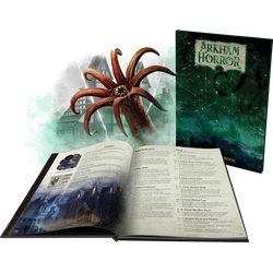 Arkham Horror (3rd Ed) Ltd Ed Deluxe Rulebook