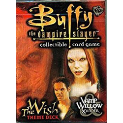 Buffy the Vampire Slayer CCG: The Wish Theme Deck Vamp Willow & Xander