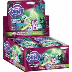 My Little Pony CCG: Defenders of Equestria Booster Display
