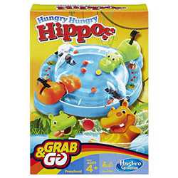 Hungry Hungry Hippos - Travel Edition