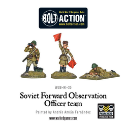 Soviet Army Forward Observation Officer Team
